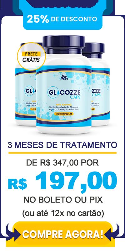Comprar Glicozze - 3 frascos