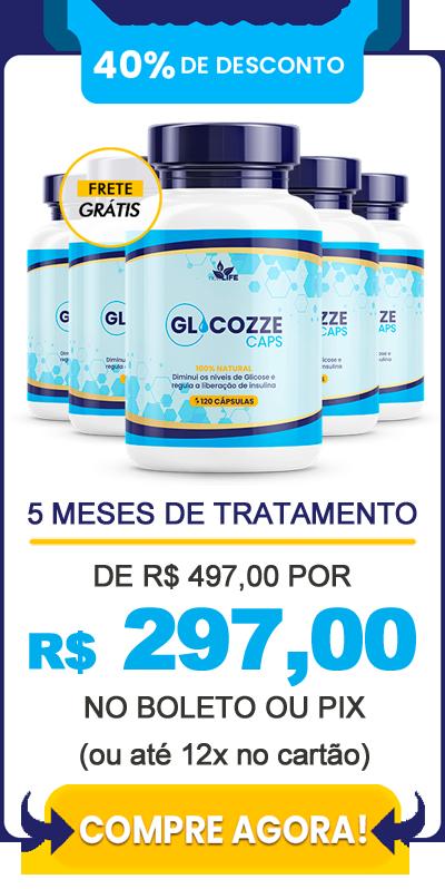 Comprar Glicozze - 5 frascos